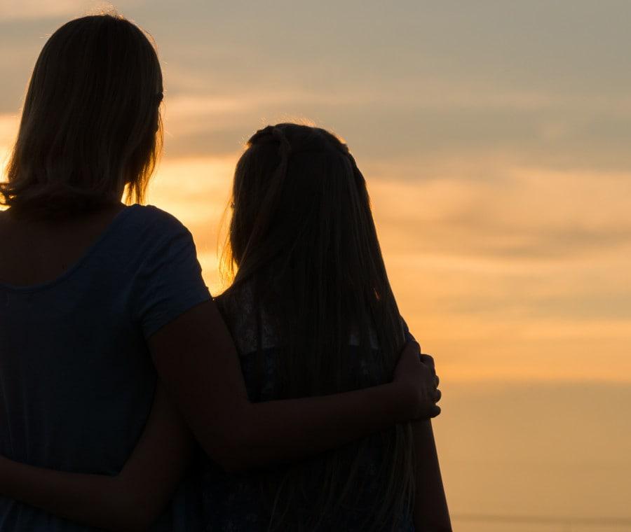 madre-figlia-sole