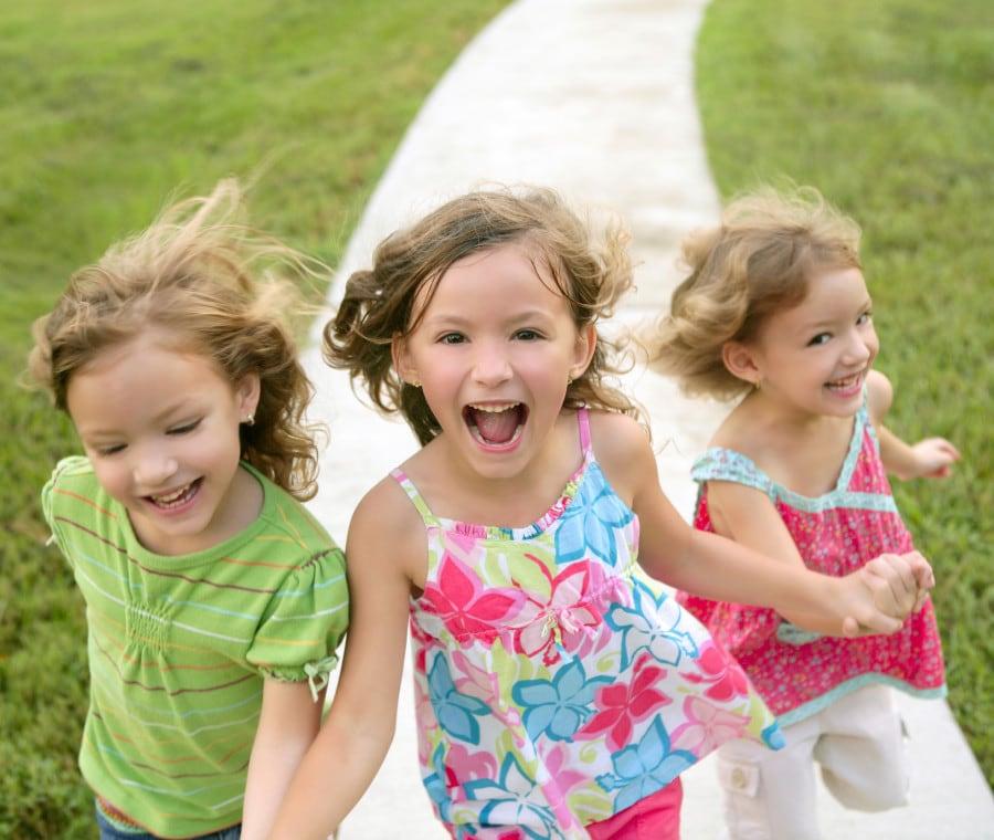 tre-bambine