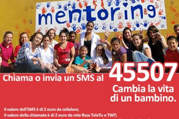 Sostieni Mentoring Usa Italia Onlus e cambia la vita di un bambino