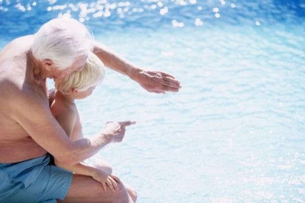 Bambini in vacanza con i nonni: l'esperienza delle mamme