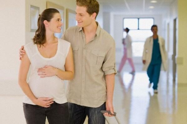 La sera prima del parto: l'ho trascorsa in ospedale