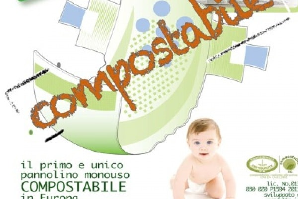 Un bambino allergico alle plastiche sintetiche ispira WIP, i pannolini ecologici