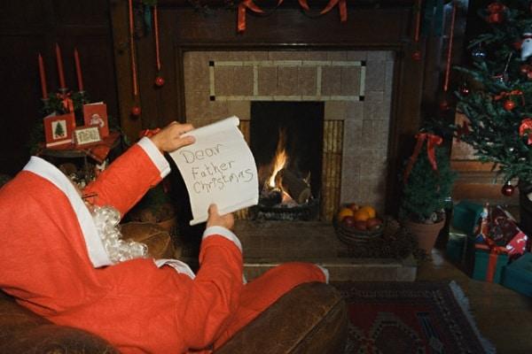 Prima letterina a Babbo Natale