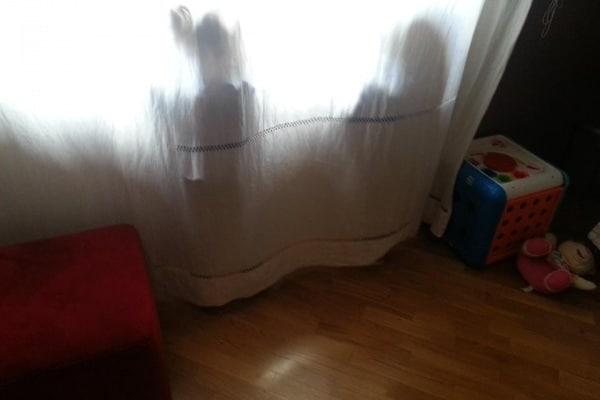 Foto divertenti di bimbi che si nascondono