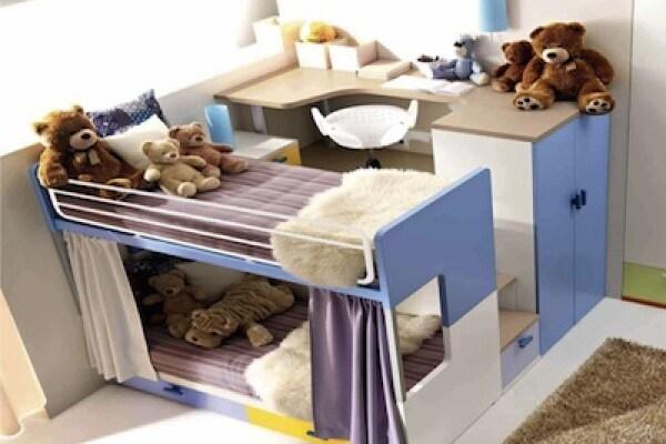 La cameretta e la vita del bambino: uno spazio su misura