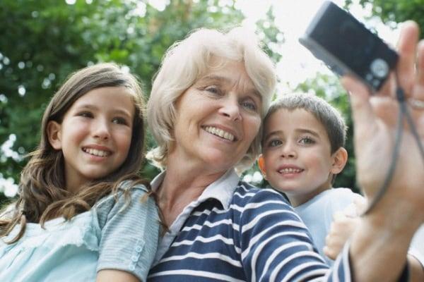 L'amore di una nonna per i nipoti