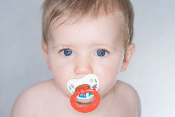 wean baby from pacifier