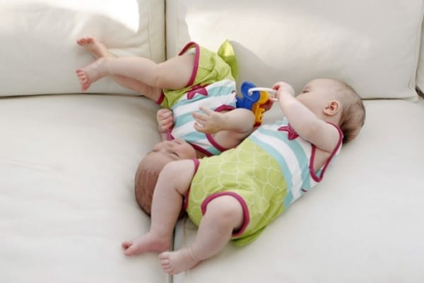 Mamma di due gemelli, dopo sei anni di tentativi