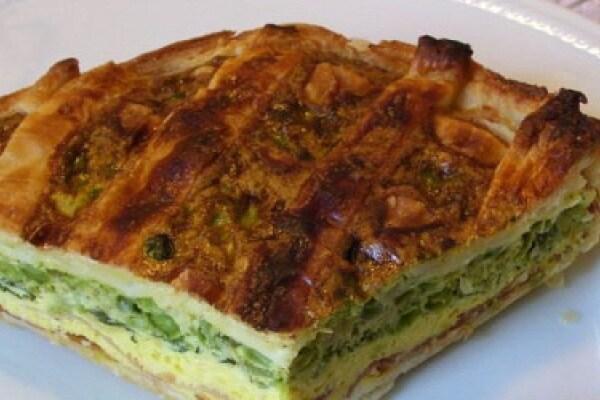Mamme in cucina: verdure in crostata