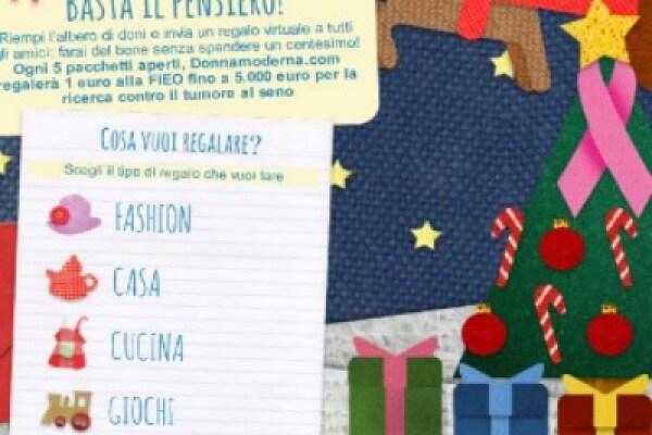 Basta il pensiero: la campagna social di Donna Moderna per un Natale solidale