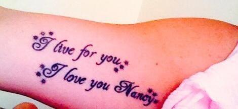 100 Tatuaggi Originali Dedicati Dalle Mamme Ai Bambini Mammenellarete
