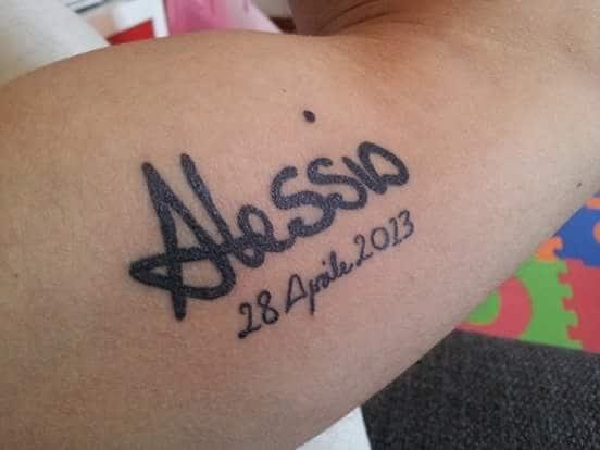 Tatuaggio dedicato a mio padre ak69 pineglen for Tatuaggi dedicati ai figli