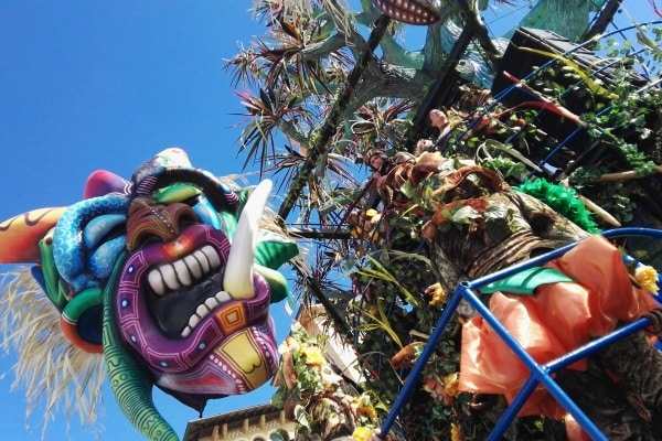 Carnevale di Viareggio, le foto dei carri