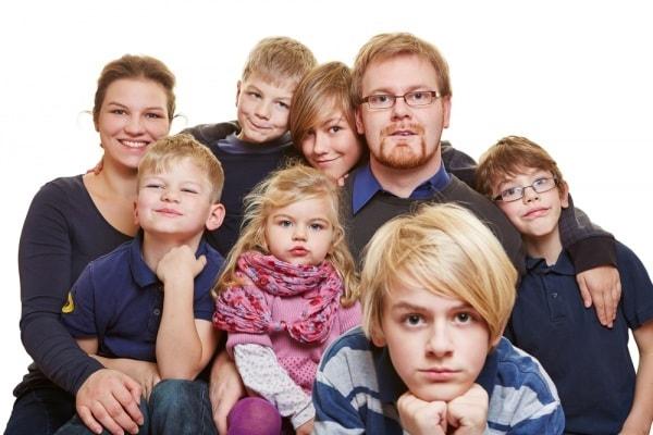 La straordinaria storia della mia famiglia numerosa 'acquisita'