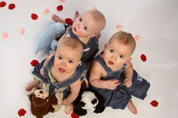 Fecondazione artificiale, adesso sono una mamma felice di tre gemelli