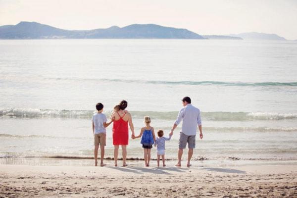 Ho quattro splendidi figli e un marito fantastico. La mia allegra famiglia