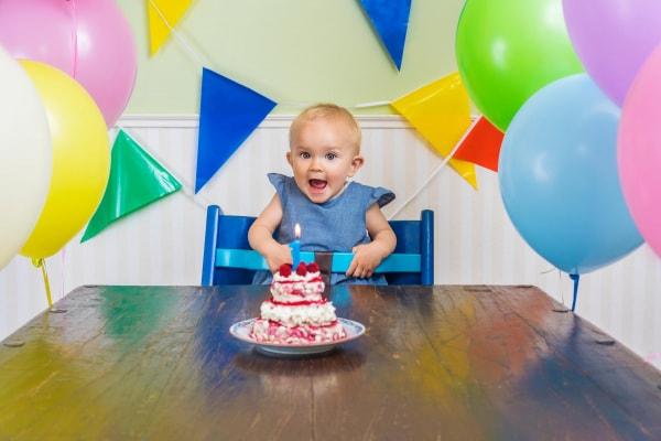 soffiare candelina primo compleanno