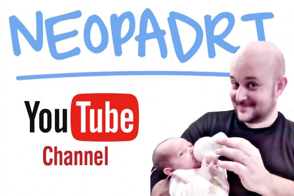 Neopadri, il canale Youtube di un giovane papà alle prime armi