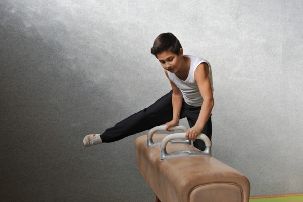 Mio figlio, un talento innato per la ginnastica artistica