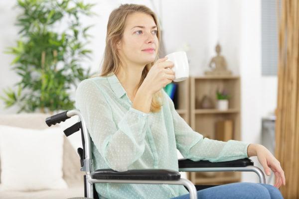 Sono sulla sedia a rotelle e sono una mamma felice
