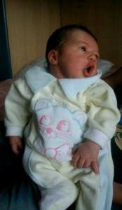 Amy alla nascita