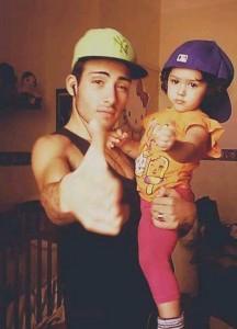 Antonio con Amy